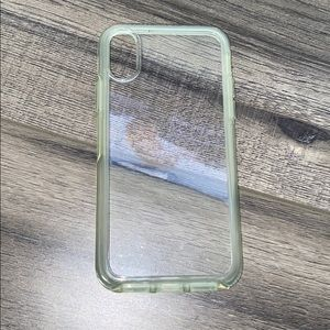 Clear Otterbox Phone Case for iPhone X/XS